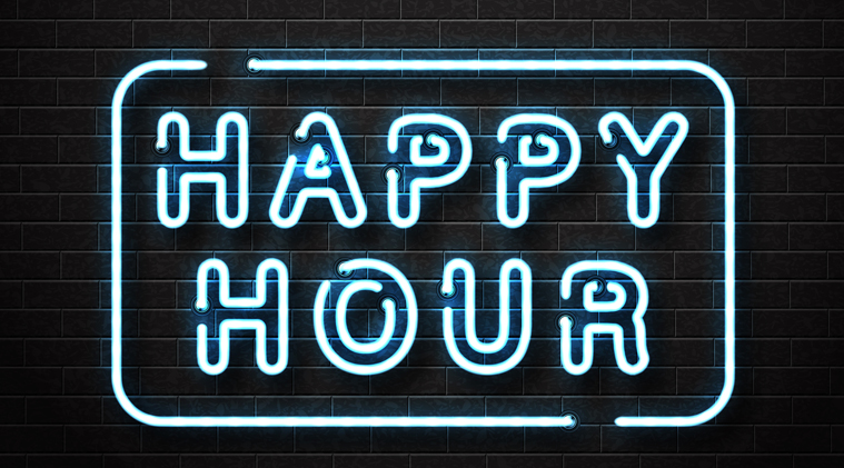 Happy Hour at Shock Wave
