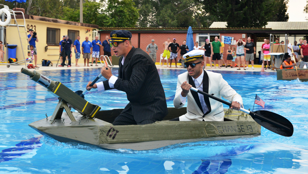 Cardboard Regatta Unit Competition