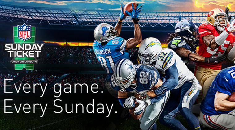 NFL Sunday Ticket at Shock Wave