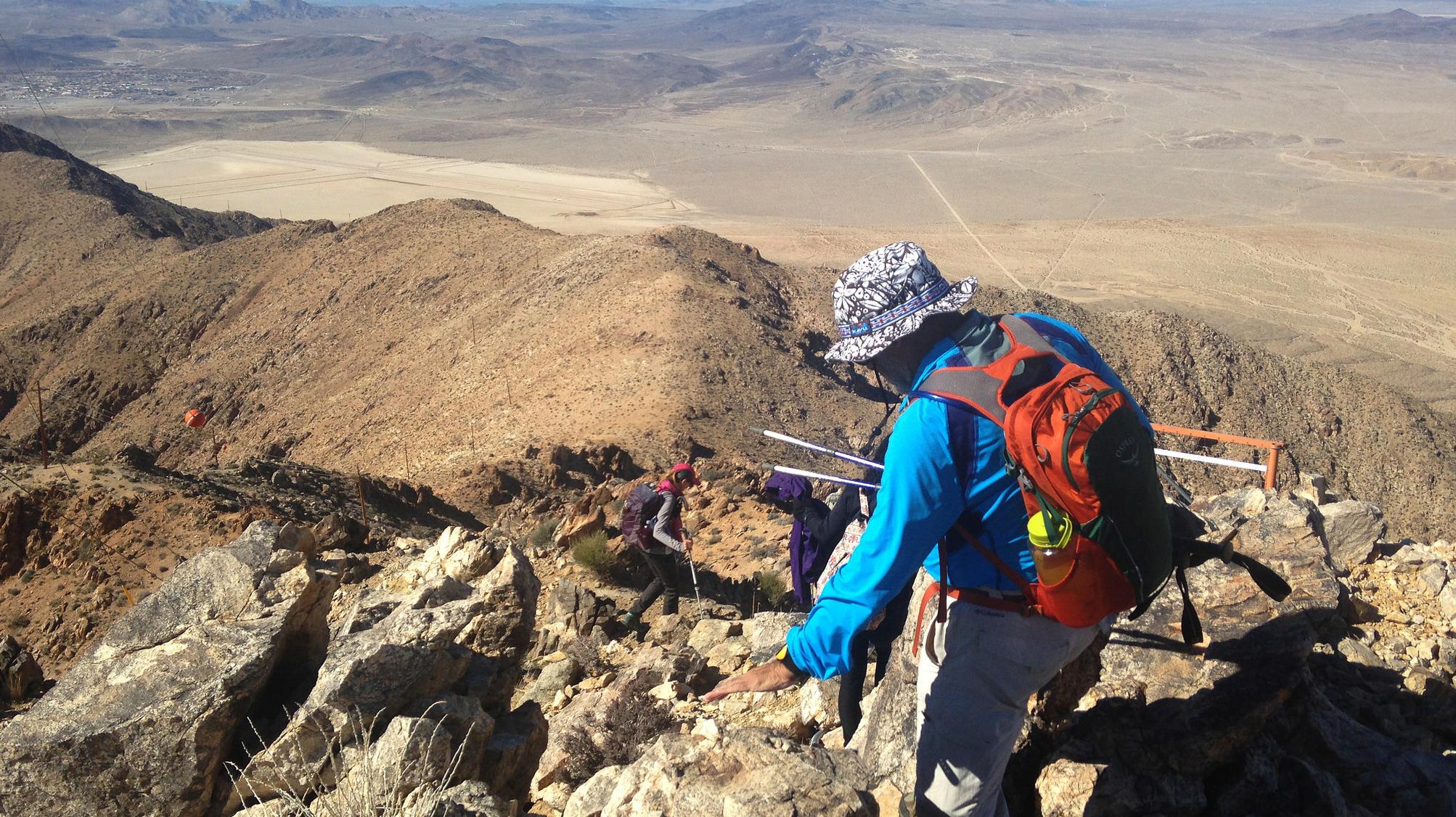 Tiefort Mountain Climb