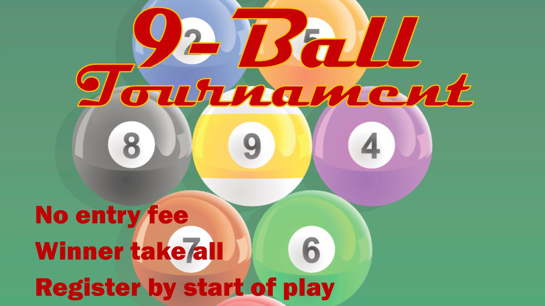 9 Ball Pool Tournament