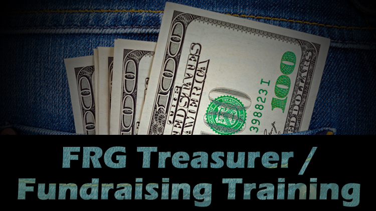 FRG Treasurer / Fundraising Training