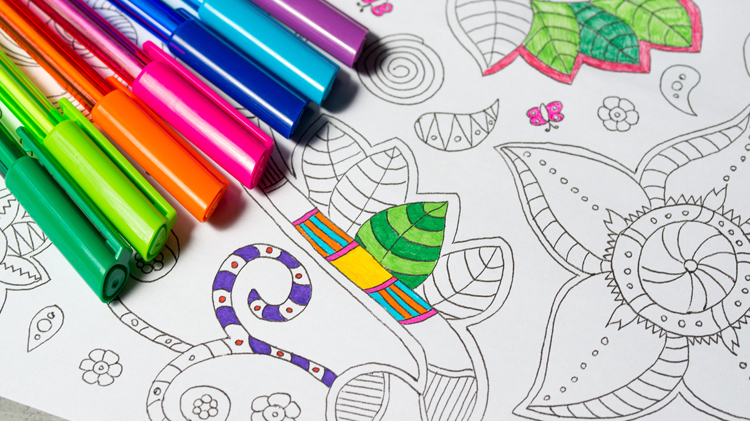 Color Me Relaxed - Adult Coloring