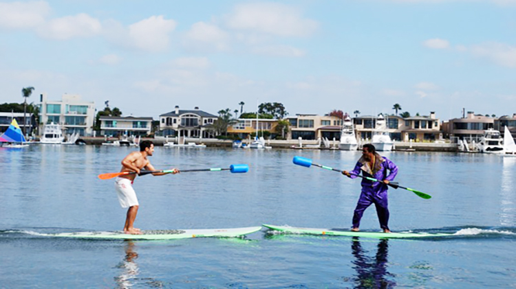 Paddle Board Jousting