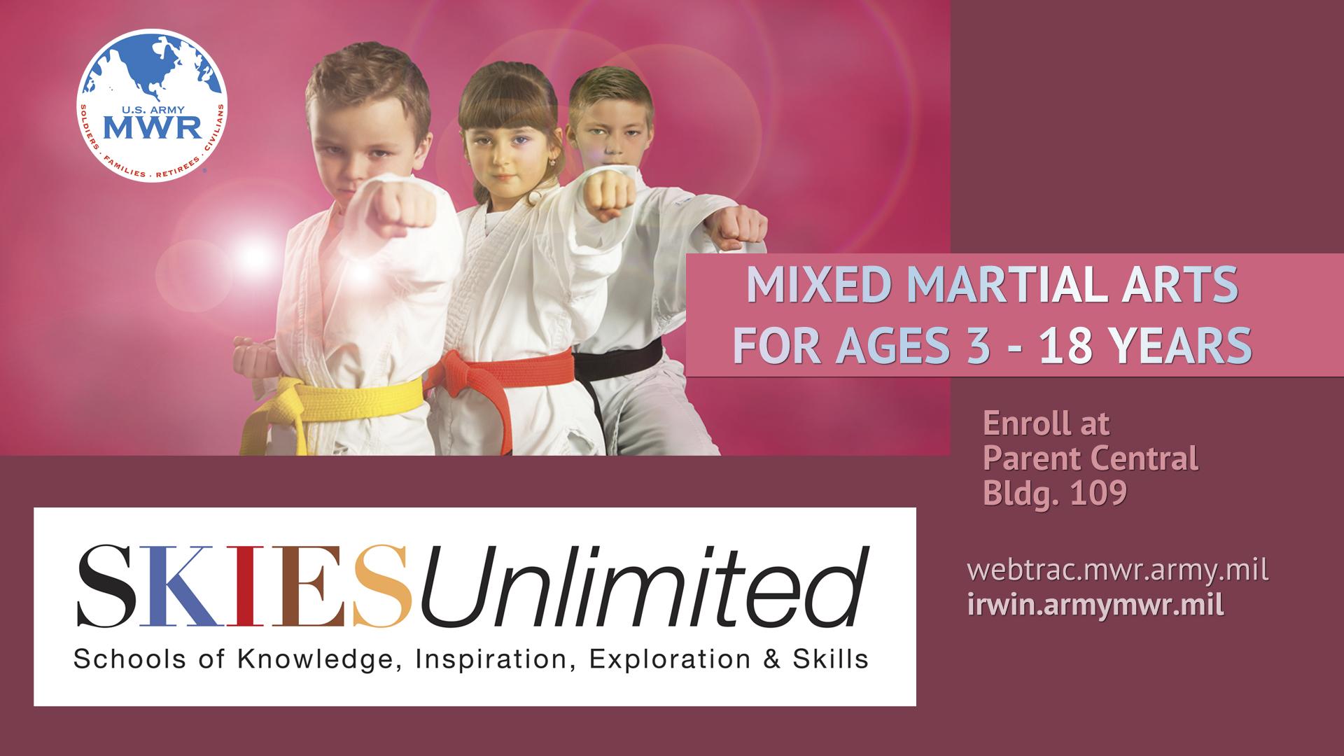 Youth Mixed Martial Arts