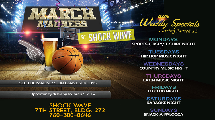 March Madness at Shockwave